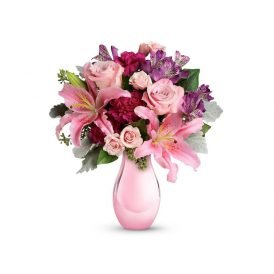 Bunch of Charming Pink Roses - ProFlowers.pk