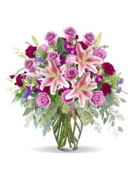 Sunshine Pink Roses