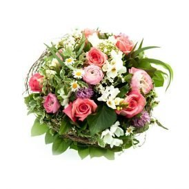 Basket of Mixed Roses ProFlowers.pk