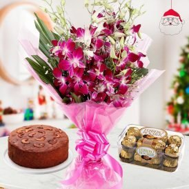 Christmas Cakes and Flowers - ProFlowers.pk