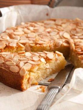 Fresh Almond Cake