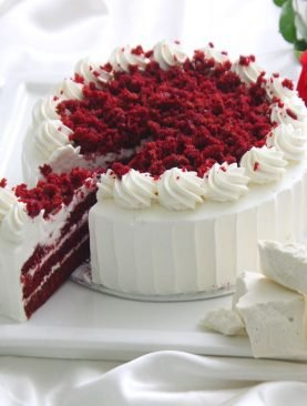Royal Red Velvet Cake