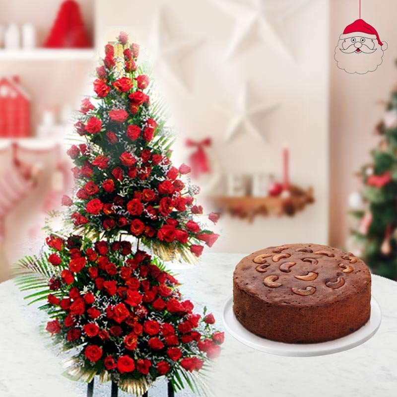 Rainbow Christmas Trees: Online Flower & Gift Delivery Pakistan