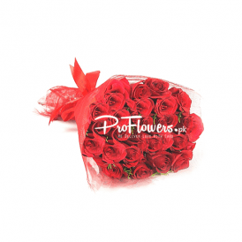24 Caret Red Lovely Flowers | Anniversary Flowers Delivery Services Lahore