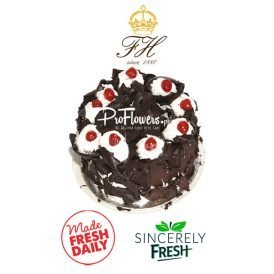 2Lbs Black Forest Cake Falettis Hotel