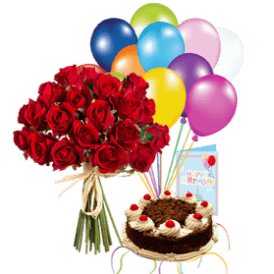 Birthday Blast Flowers & Cake Delivery Services in Lahore | ProFlowers.pk