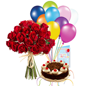 Birthday Blast Flowers Cake Delivery Services In Lahore