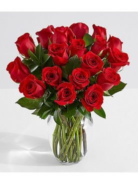 18 Long Stemmed Red Roses