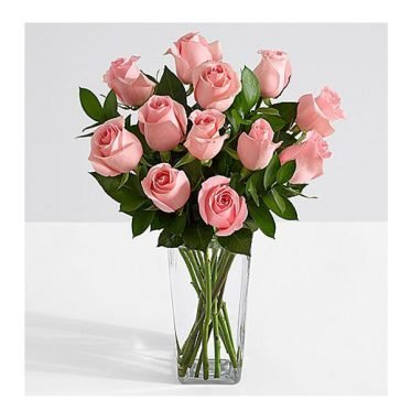 Long Stemmed Pink Roses ProFlowers.pk Pakistan Delivery