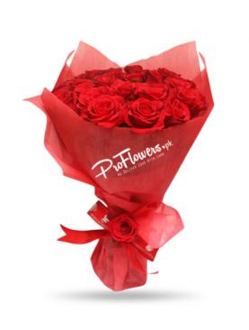 Valentine Special Red Bouquet