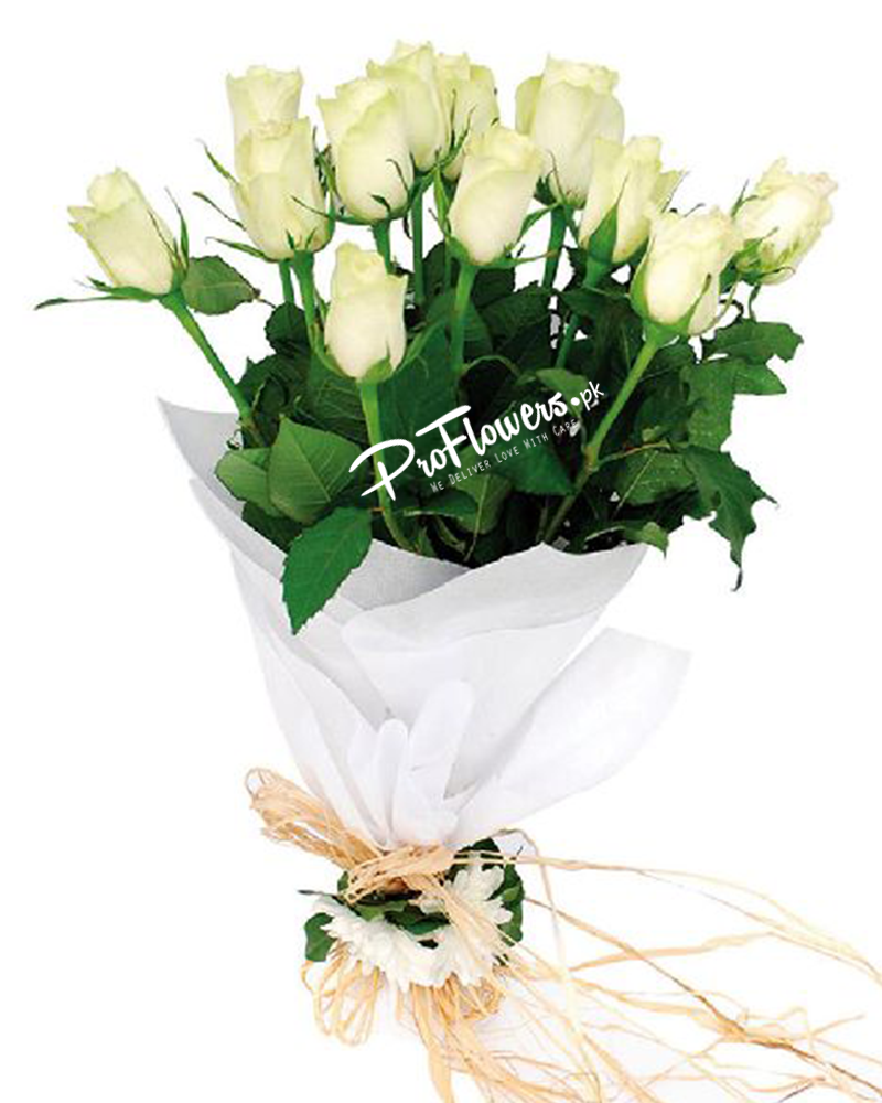 White flowers for valentines day send valentins day flowers online izmirmasajfo