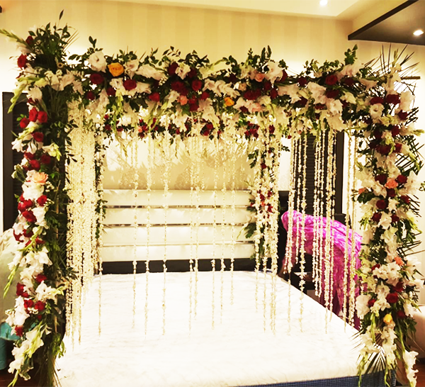Bridal Room Decoration