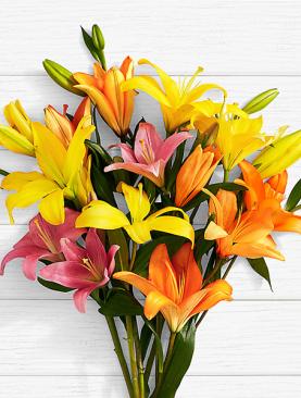 Birthday Lilies