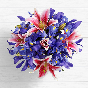 Birthday Spectacular Frills - Send Birthday Lillies Online in Pakistan - ProFlowers.pk