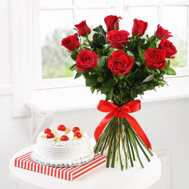 Perfect Combo To Gift - Send Flowers Combo Gift Online - Proflowers.pk