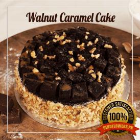 Walnut-Caramel-Cake proflowers.pk