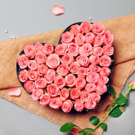 Roselily Surprise - Heart Shaped Flowers Online - Proflowers.pk
