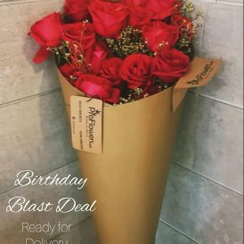 12 Birthday Roses - ProFlowers.pk