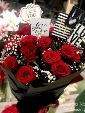 20 Long Stem Red Roses