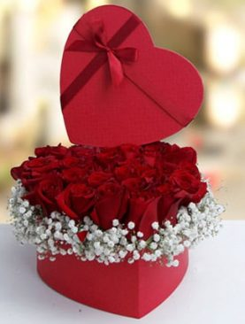 Valentine Heartshape Arrangement