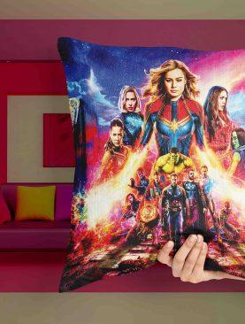 Avengers Female Hero Pillow