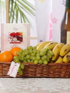Basket of Mixed Fruit