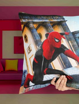 Red Spiderman Jumping Pillow