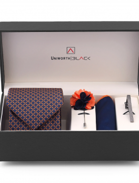 BLUE AND ORANGE MEN 'S GIFT BOX - UNIWORTH