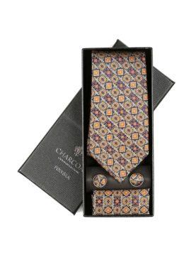 BOX TIE SET – CHARCOAL