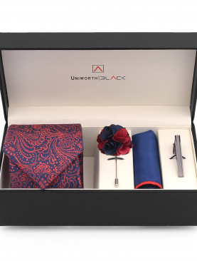 CRIMSON AND BLUE MEN 'S GIFT BOX – UNIWORTH